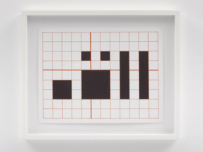 Channa Horwitz, 'Language Series #14', 2003-2004