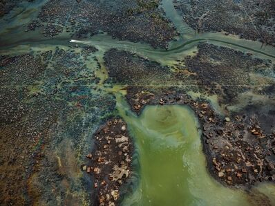 Edward Burtynsky, 'Oil Bunkering #4, Niger Delta, Nigeria', 2016