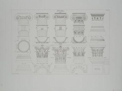 Leonardo da Vinci, 'Details Grecs, Bases et Chapiteaux', (Date unknown)