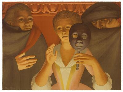 George Tooker, 'Un Ballo in Maschera', 1983