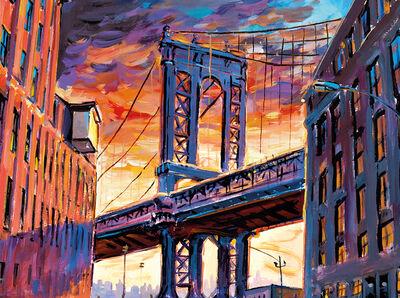 Bob Dylan, 'Manhattan Bridge, Downtown New York', 2017