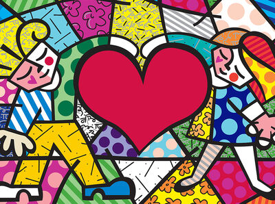 Romero Britto, 'Big Heart', 2015