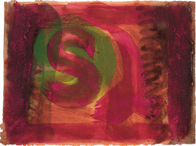 Howard Hodgkin, 'Red Listening Ear', 1986