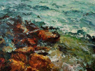 Lyudmila Agrich, 'Sea Rocks', 2018