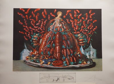 Salvador Dalí, 'Les Diners de Gala Les Canibalismes de l'automne', 1977