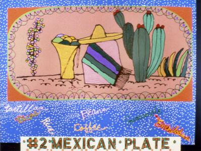 Mel Casas, 'Humanscape 135: #2 Mexican Plate', 1984