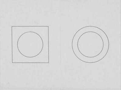 Mario Ballocco, 'Interazione tra figura e sfondo', 1981