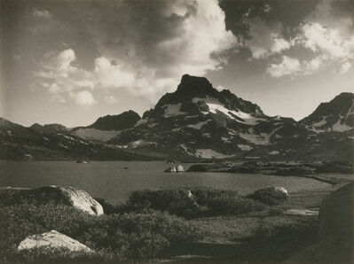 Ansel Adams, 'Banner Peak—Thousand Island Lake, from the portfolio Parmelian Prints of the High Sierras', 1923
