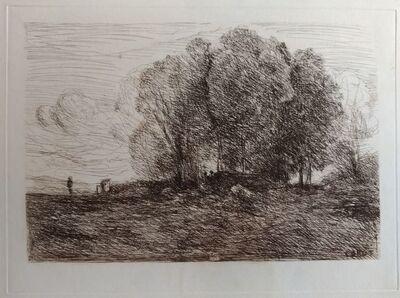 Jean-Baptiste-Camille Corot, 'Landscape #4', 1850