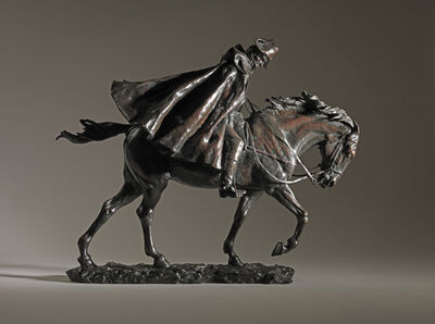 Jean-Louis-Ernest Meissonier, 'Horseman in the Wind', ca. 1878