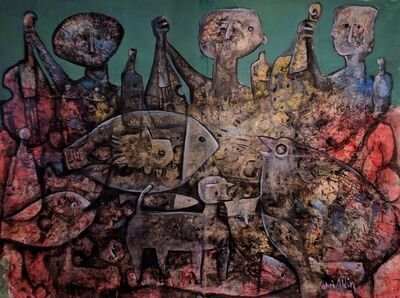 Fahri Aldin, 'My Hungry Neighbors', 2017