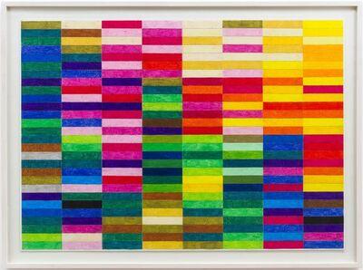 Hermann Nitsch, 'Ohne Titel (Farbskala)', 2019