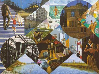 Sergio Ceccotti, 'La vita illustrata', 1988