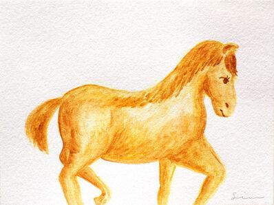 Nobuhiro Shimura, 'Pony (brown)', 2020
