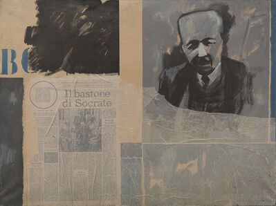 Bruno Di Bello, 'Ritratto di B.C.', 1966