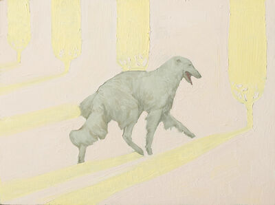 Rae Klein, 'White Dog Pale Landscape', 2019