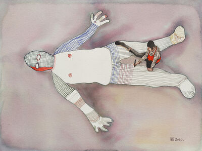 Zhou Jinhua 周金华, 'Painted No.5', 2020