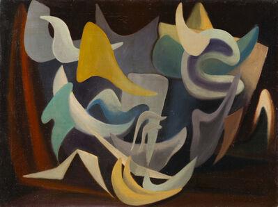 Mario Deluigi, 'Composizione', 1951