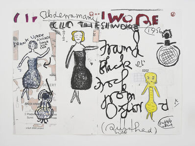 Rose Wylie, 'Clothes I Wore #10', 2019
