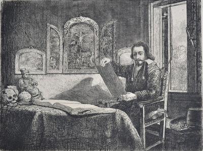 Rembrandt van Rijn, 'Abraham Francen, Apothecary', Etched c. 1657, Printed in 1906 (Beaumont, Paris)