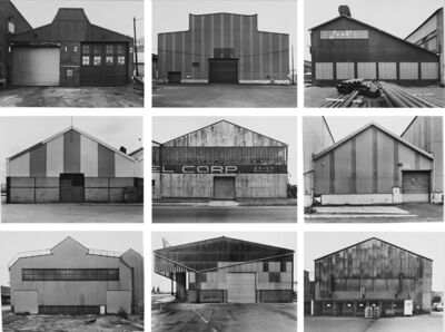 Bernd and Hilla Becher, 'Industrial Facades', 1972-1995