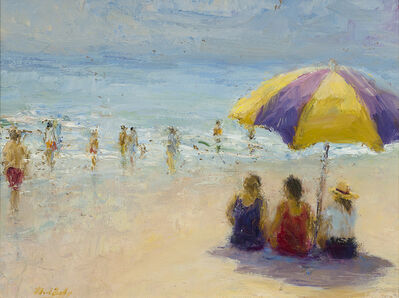 Mark Daly, 'Beach Talk'