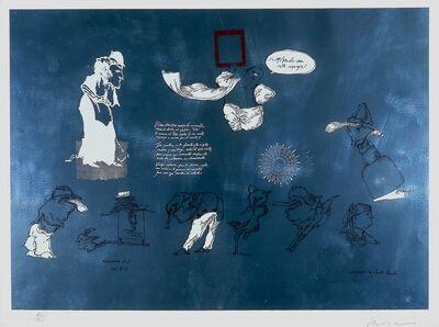 Jose Luis Cuevas, 'Mírate en este espejo, from Homage to Quevedo [Look at Yourself in this Mirror]', 1969