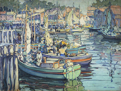 Jane Peterson, 'Gloucester Boats', Date unknown.