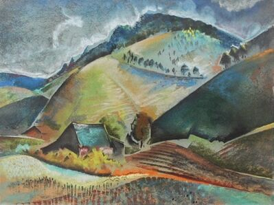 Will Henry Stevens, 'Mountainous Landscpe'
