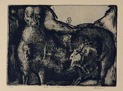 Robert Birmelin, 'Beast With Tree In Stomach', 20th Century