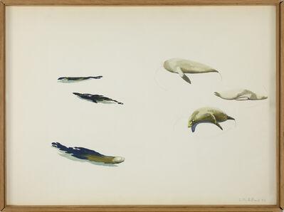 Gilles Aillaud, 'Sans titre (Phoques)', 1977