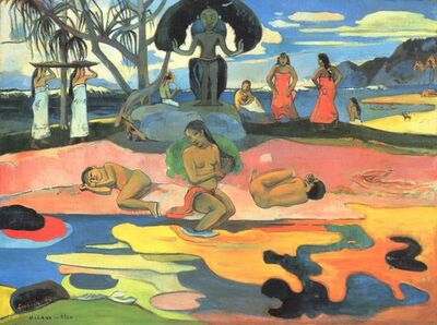 Paul Gauguin, 'Mahana No Atua (Day of the God)', 1894
