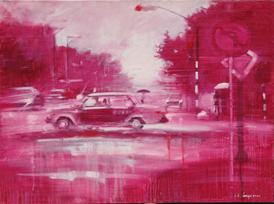 Luis Enrique Camejo, 'La Habana En Rojo', 2006