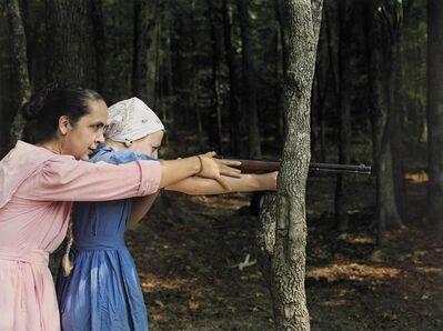 Lucas Foglia, 'Rita and Cora aiming, Tennessee', 2006-2010
