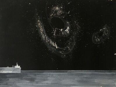 Donna Dennis, 'Ship and Black Holes 2', 2017