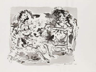 Walter Quirt, 'Untitled, Two Figures', 1964
