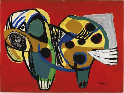 Karel Appel, 'Animal n° 14', 1951