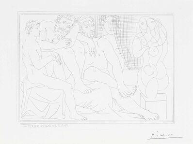 Pablo Picasso, 'Sculpteurs, modèles et sculpture, from La Suite Vollard', 1933