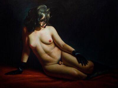 Rose Freymuth-Frazier, 'Reclining Hermaphrodite', 2008