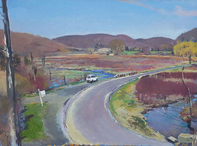 Peter Charlap, 'From the Rail Trail', 2016