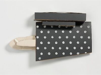 Richard Tuttle, 'Untitled (GREY WHITE FOR ARTIFICIAL LIGHT)', 1986