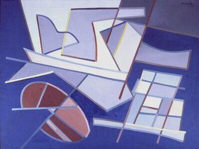 Alberto Magnelli, 'Image tournante 1', 1958