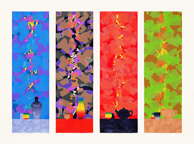 Liao Shiou-Ping, 'Four SeasonsⅠ Ⅱ Ⅲ Ⅳ', 1997