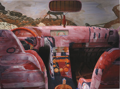 Jon Rafman, 'Guston Car interior', 2014