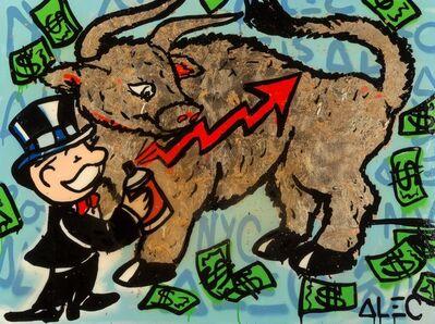 Alec Monopoly, 'Gold Bull', c. 2015