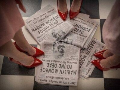 Tyler Shields, 'Marilyn Monroe Found Dead', 2015