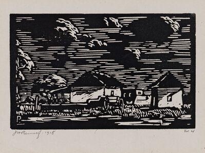 Jacob Hendrik Pierneef, 'Bewolkte Lug (Maanlig) (Nilant 53)', 1918