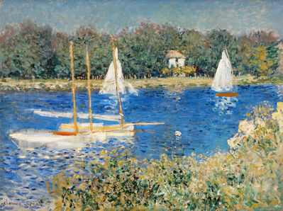 Claude Monet, 'The Basin at Argenteuil', 1874
