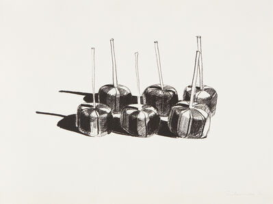 Wayne Thiebaud, 'Suckers (State I)', 1968