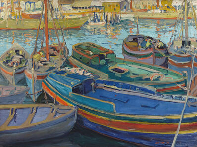 Jane Peterson, 'Fishing Boats', ca. 1920